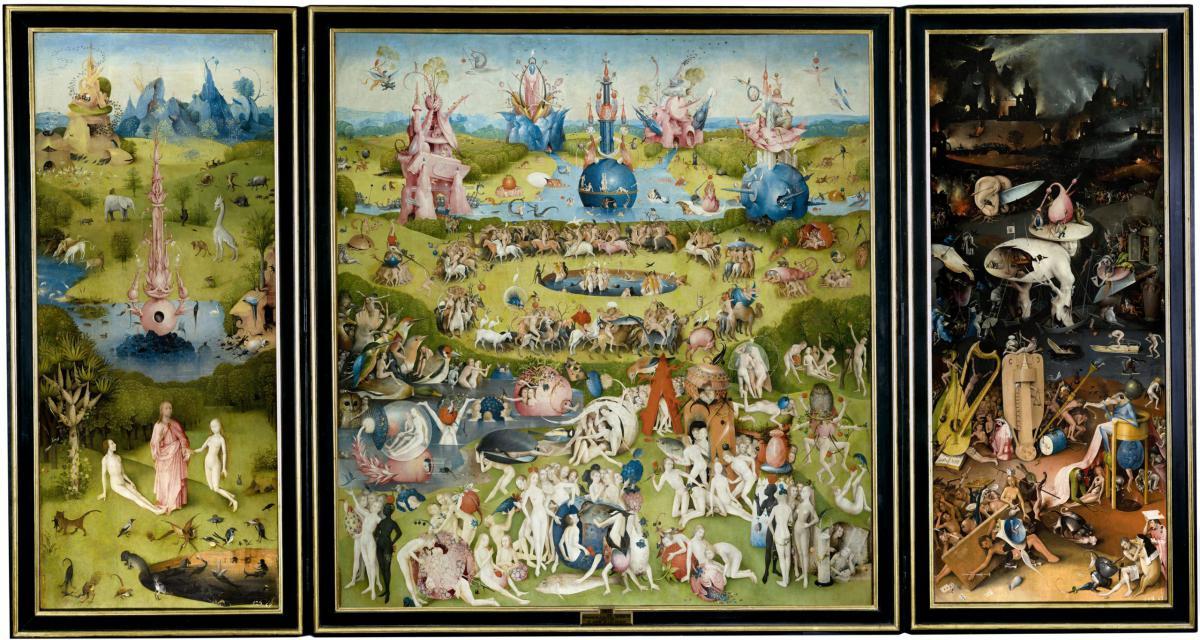 Hieronymos Bosch Eden-Garten-Hölle